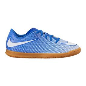 aebb83e7fe Tenis Futsal Nike Lancamento 2016 - Chuteiras Nike de Futsal Azul no ...