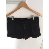Short De Vestir Negro