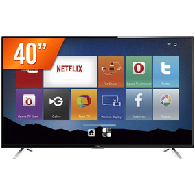 Smart Tv Led 40 Semp Toshiba Full Hd Wi-fi Tcl 40s4700s