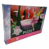 Puzzle Barbie Mariposa 48 Piezas Grandes Jugueteria Aplausos