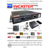 Vecaster Pro 1 Channel Hdmi Encoder To Iptv Professional