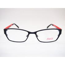 Armação Para Óculos Coca Cola Unissex Cc1 3239