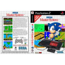 Emulador Master System Para Ps2 Dvd + 300 Games Frete 8,00