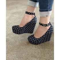 Sapatos Femininos Sandálias Anabela
