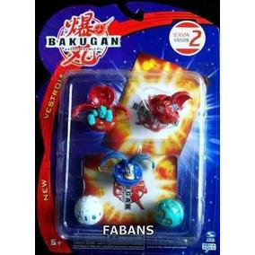 Bakugan Battle Brawler 5 Esferas Y 5 Cartas Juguetes Nino