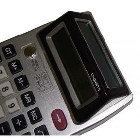Calculadora Duplo Visor + Luz Uv (testa Dinheiro Falso)