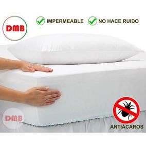 Funda 1 Plaza Cubre Colchon Protector Impermeable Reforzada