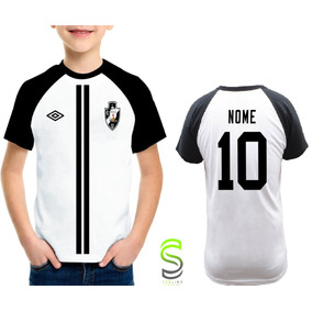 9d45bb89b8 Camisa Camiseta Infantil Vasco Personalizada Ref 080