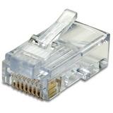 Conector Modular Rj45 Cat5e 8x8 Pacotes Com 1000 Peças