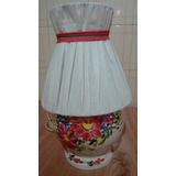 Vendo Lampara De Ceramica Pintada A Mano