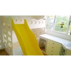 Treliche Infantil Com Escorregador - 188x88
