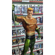 Estatua Resina Aquamen Lja 40cm Dc Comics Ótimo Preço