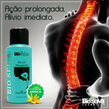 Kit C/ 5 Gel Massageador De Arnica Bio Seiva