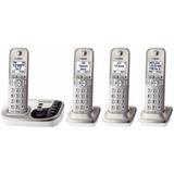 Teléfono Panasonic Inalámbrico 3 Auxiliares Muchas Funciones