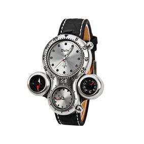 c09ffb02f2a Maravilhoso Relógio Oulm 1149 Extra Grande - Relógios De Pulso no ...