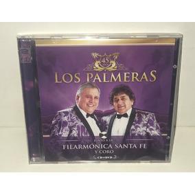 Cd + Dvd Los Palmeras Junto A La Filarmónica Santa Fe+regalo