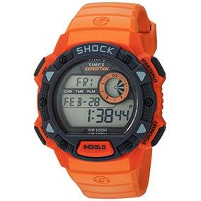 96658e836bc5 Reloj Timex Expedition Caratula Naranja en Mercado Libre México