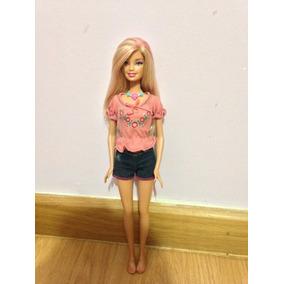 Boneca Barbie Com Mechas Vida De Sereia 2