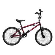 Bicicleta Bmx Rod 20 Stark Black Rotor Freno V - Brake Acero