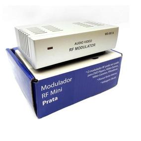 Modulador Rf- P/ Tvs Sem Entradas De Áudio E Vídeo Tipo Rca