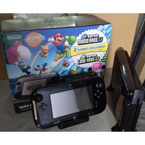 Nintendo Wiiu 32gb De Luxe+super Mario Bros E Super Luigi