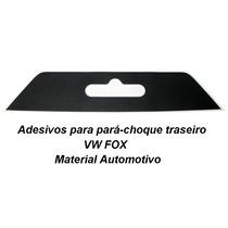 Acessórios Vw Fox Parachoque Adesivo Fundo Placa Rock In Rio