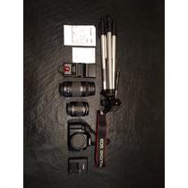 Camara Reflex Canon T3 Combo 18-55 / 70-300 - Flash Externo