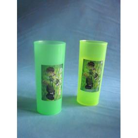 Vasos Plasticos Personalizados Ben10 Cumpleaños 10u