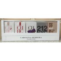 Carolina Herrera Feminino - * Kit Miniaturas*