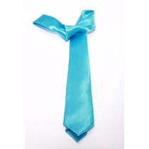 Gravata Semi Slim Azul Tiffany