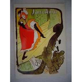 Cartão Postal Art Decor Jane Avril Arte Anos 30