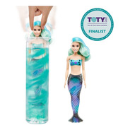 Barbie Color Reveal Sirena Set De 7 Sorpresas Muñeca Mattel