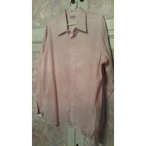 Camisa Talle M Rosa Cuadritos F Carazo De Vestir Para Traje