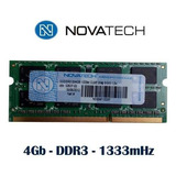 Memoria Ram Para Notebook 4gb Ddr3 1600 Mhz Netbook