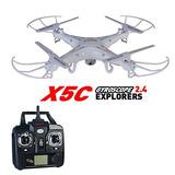 Techrc Syma X5c 2.4g 6-axis Gyro Rc Quadcopter Aviones No T