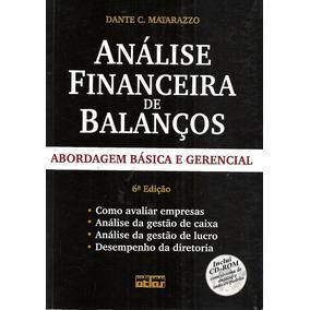 Análise Financeira De Balanços - Dante C. Matarazzo Com Cd