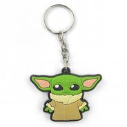 Chaveiros Borracha Baby Yoda | Star Wars | The Mandalorian