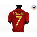 Camiseta Selección Portugal (rusia 2018) - Versión Jugador