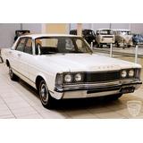 Ford Galaxie 500 1977 77 - V8 - Original - Placa Preta
