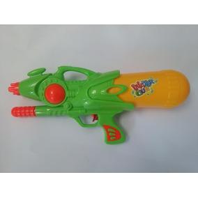 Arminha De Água Infantil Para Brincar Arma Pistola 36cm Wat