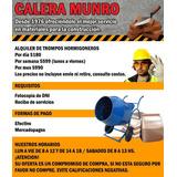 Alquiler Trompito Hormigonero, Zona Norte. Envio Y Retiro!!!