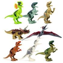 Kit Dinossauros Indominus Rex Jurassic World - C Lego 8 Unid