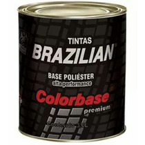 Tinta Automotiva Preto Indy Ford 97 B. Poliéster 900ml