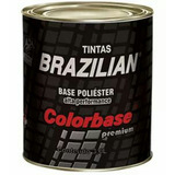 Kit 5 Tintas Automotivas Cores Variadas Poliéster 900ml Cada