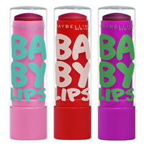 Baby Lips Super Frutas Maybelline -kit Melancia+morango+uva