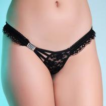 Tangas Sensuais Variadas Lingerie Sexy Kit Com 3 Tam Unico