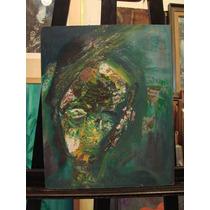 Retrato Abstracto / Anonimo/ 50 X 40 Cm # 1417