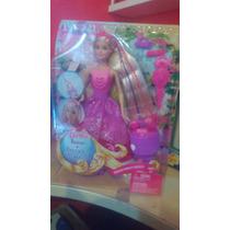 Barbie Reino De Peinados Mágicos Princesa Trenzas Magicas