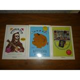 3 Libros De Rius $110.00 Cada Uno