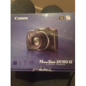 Camara Canon Powershot Sx150 Is 14.1 Mp 12 Zoom